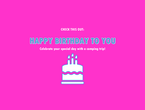 """Happy Birthday!"" Save 10% during your birthday month!! Photo"