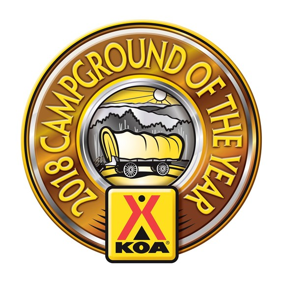 Delaware Water Gap~Pocono Mountain KOA is honored to have been chosen as the 2018 Campground of the