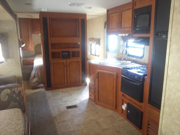 Kitchen-Living Area in one of the trailers