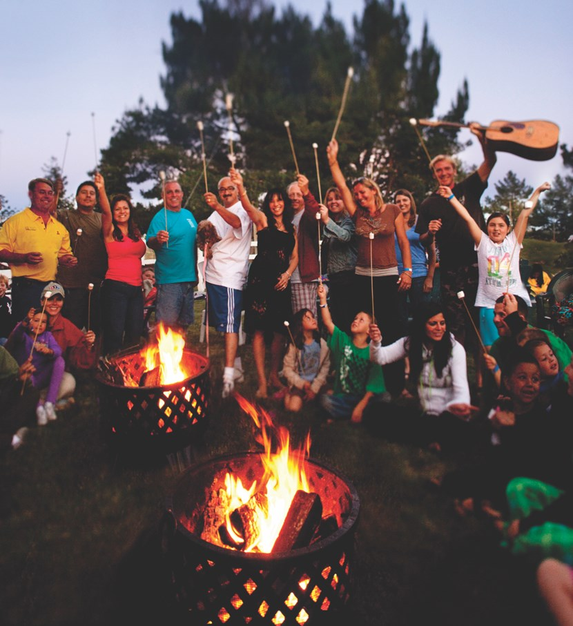 Campfire Smores & Stories are the Best!