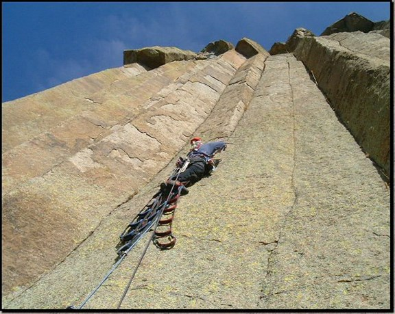 Climbing at Devils Tower