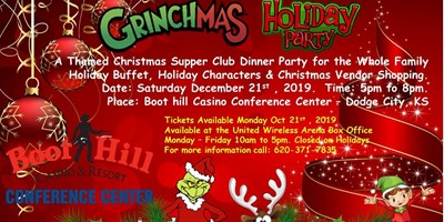 Grinchmas Holiday Dinner Party