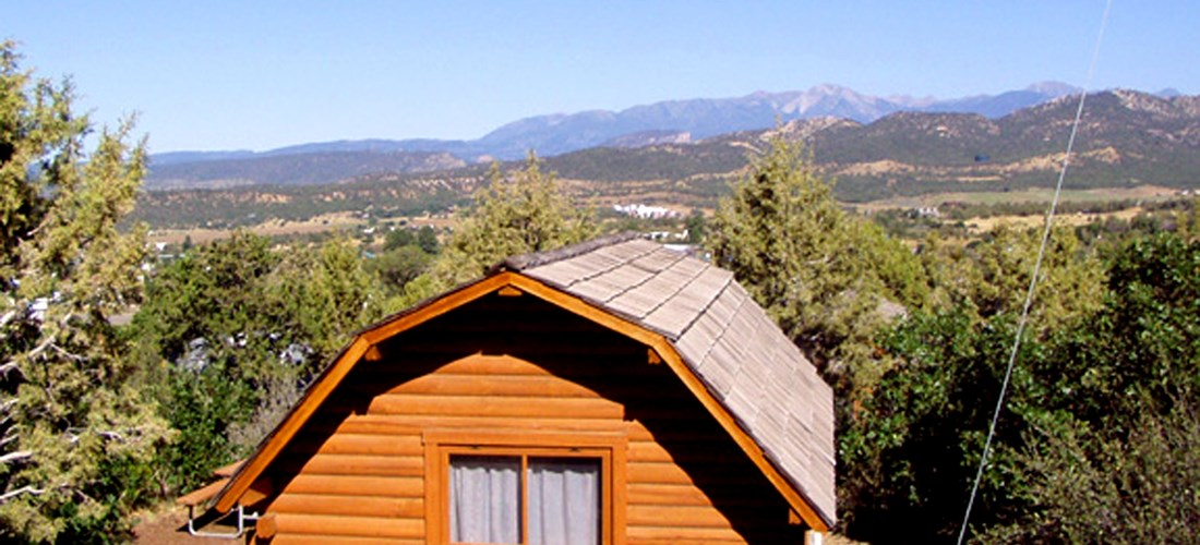 Enjoy the view of the La Plata Mountains from our campground, it sure is breathtaking.