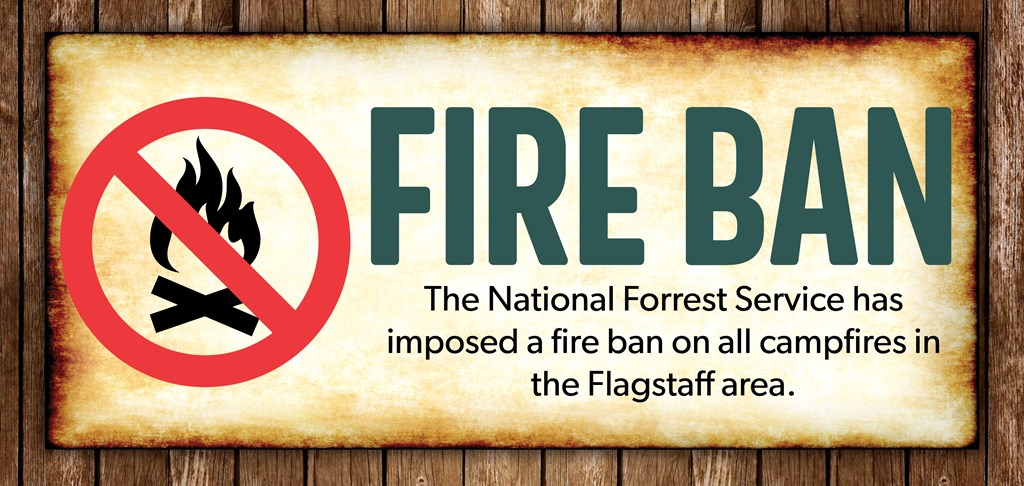 Temporary Fire Ban: No Campfire