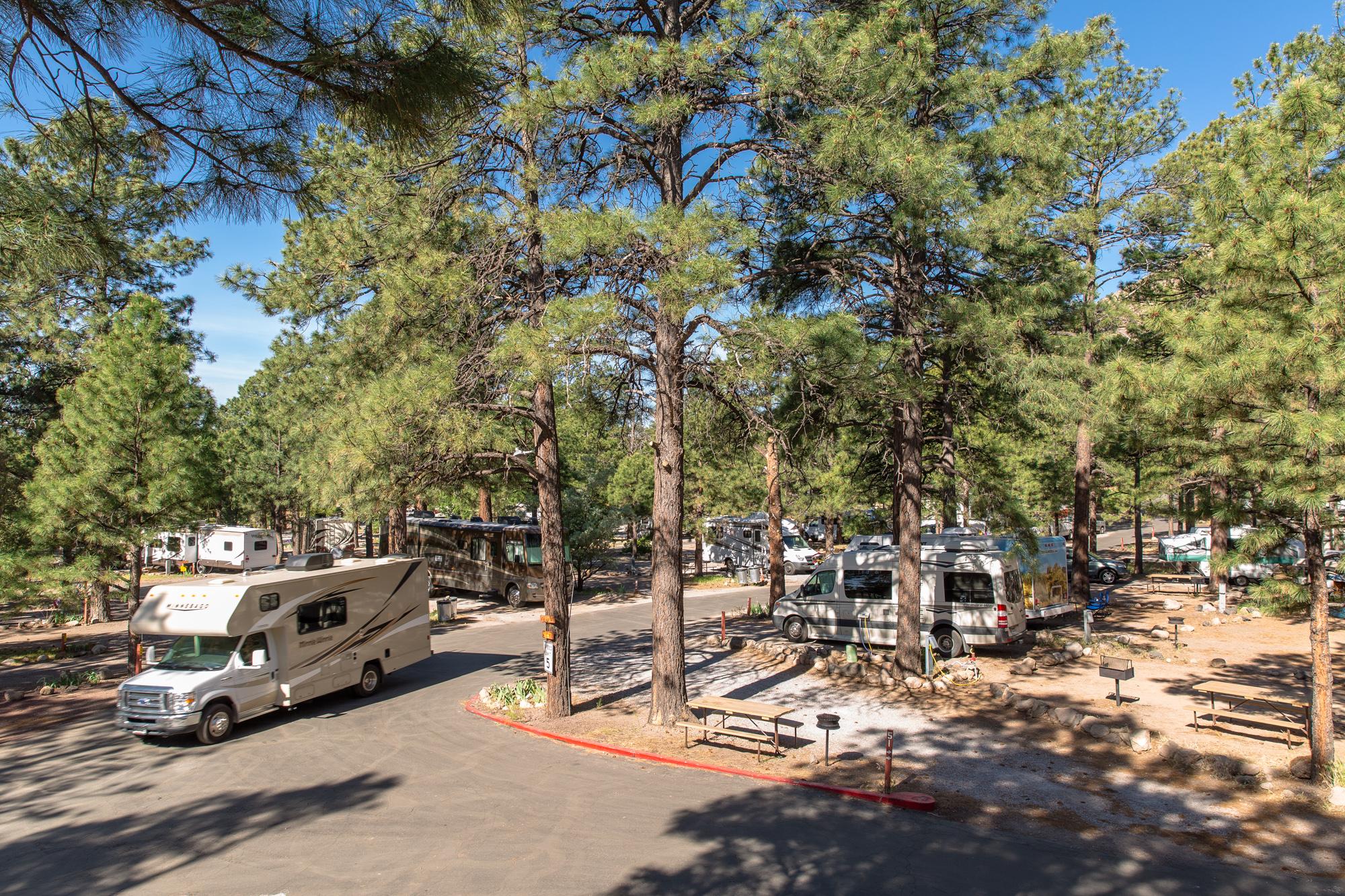 Map Of Koa Arizona.Flagstaff Arizona Rv Camping Sites Flagstaff Koa