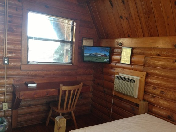 70 Channel Cable TV in all Cabins