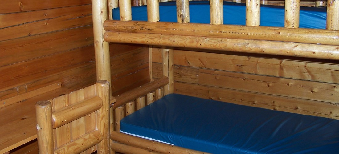 1st set of bunks
