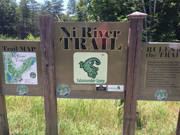 Salamander Loop Walking Trail