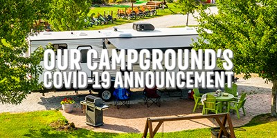 IMPORTANT ANNOUNCEMENT TO ALL VALUED KOA CAMPERS