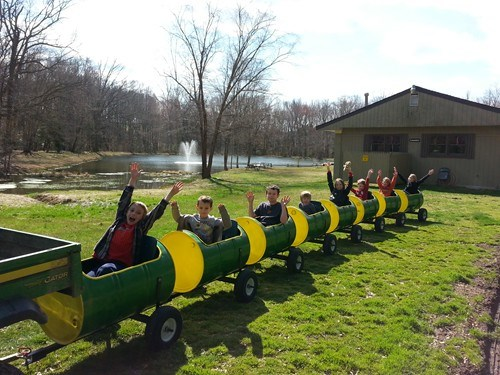 Our NEW Barrel Train