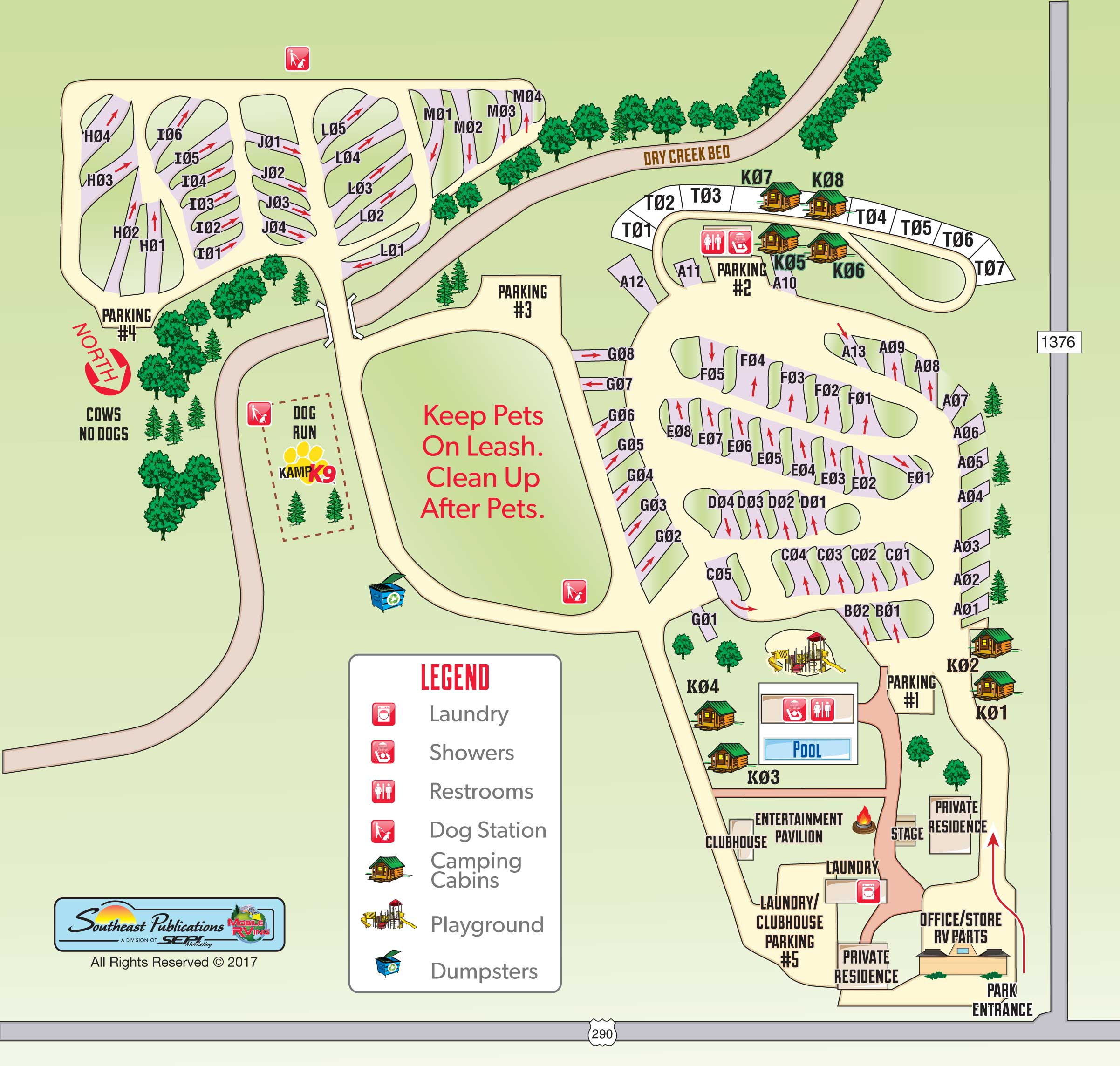 Fredericksburg Texas Campground Fredericksburg Texas KOA - Koa us map