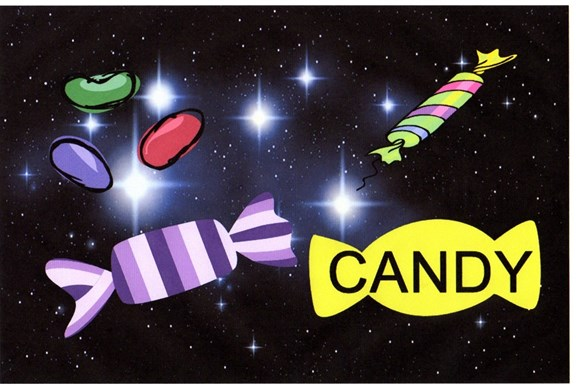 Flashlight Candy Hunt!