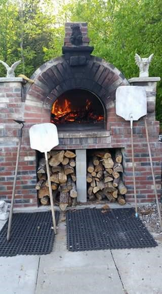 Brick Oven Pizza Station
