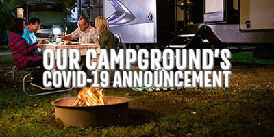 Current Campground Status - COVID-19