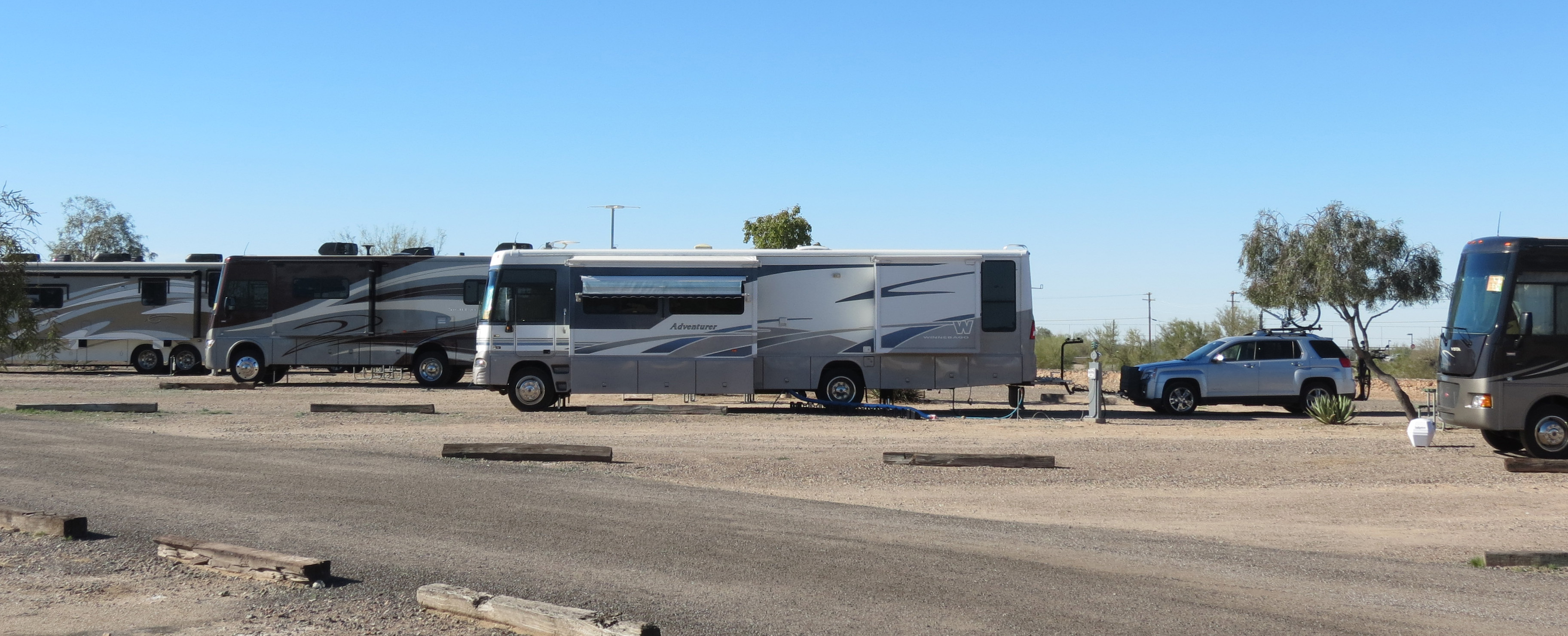 Gila bend arizona campgrounds with hookups
