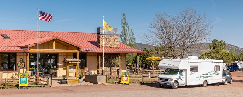 Welcome to the Grand Canyon KOA Campground