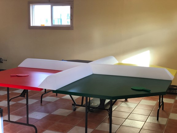 Poly Ping Pong Table