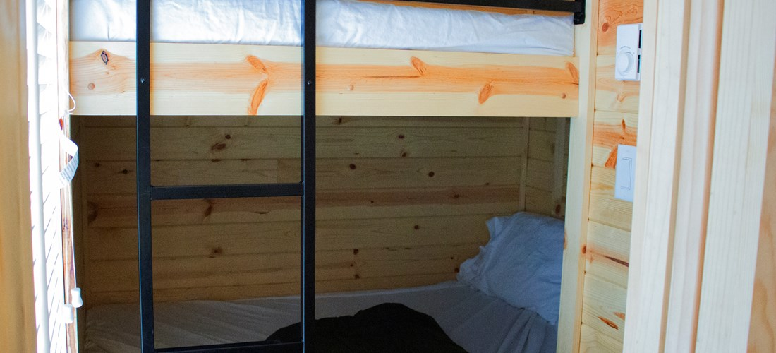 Second Bedroom with Full sized bunk beds