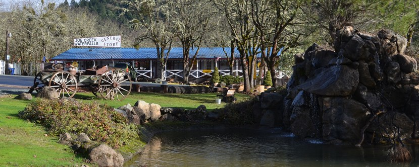Early Spring at Grants Pass KOA