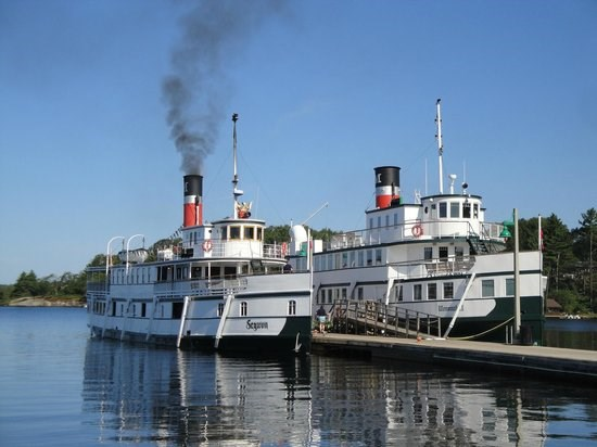 Segwun and Wenonah Steamships (Muskoka fleet)