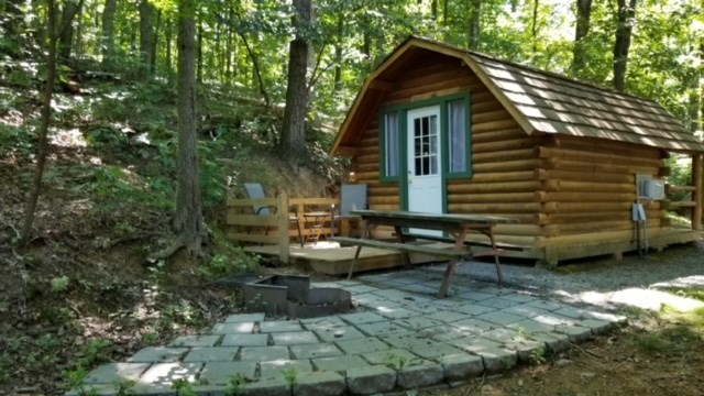 Sweetheart Cabin for 2