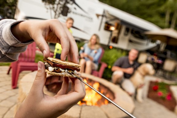 April 5-7 S'mores Weekend