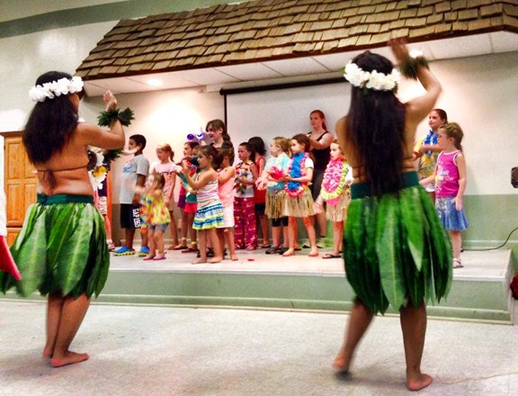Hawaiian Luau Weekend