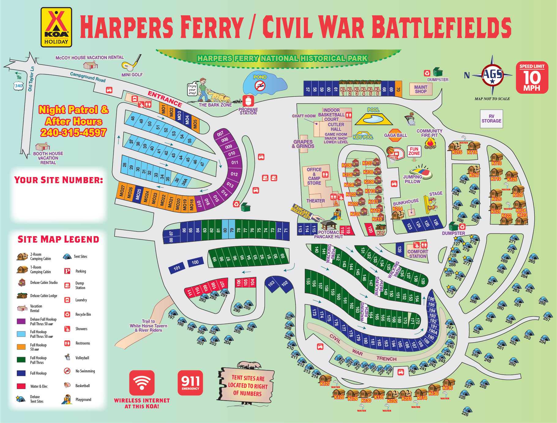 Harpers Ferry, West Virginia Campground | Harpers Ferry ... on route map, fll map, zip code map, coarsegold california map, slc map,