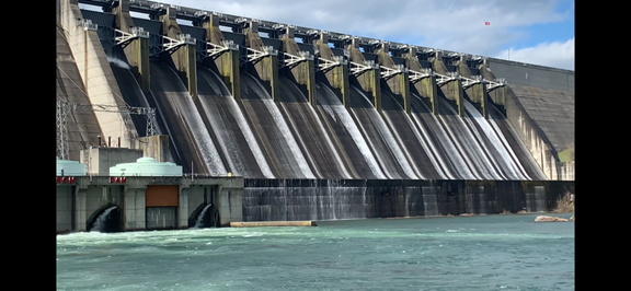 The Hartwell Dam