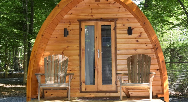 Camping Cabin - Glamping Pods
