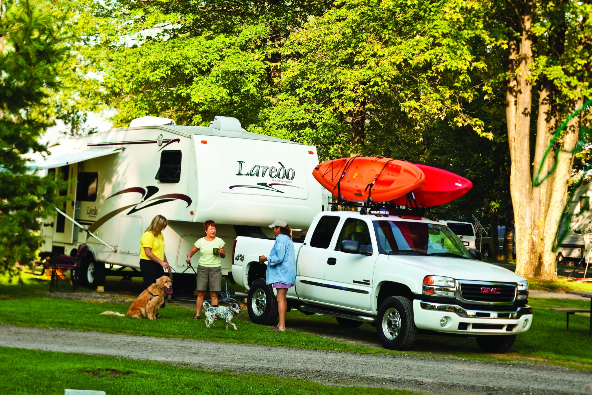 Hot Springs Arkansas RV Camping Sites