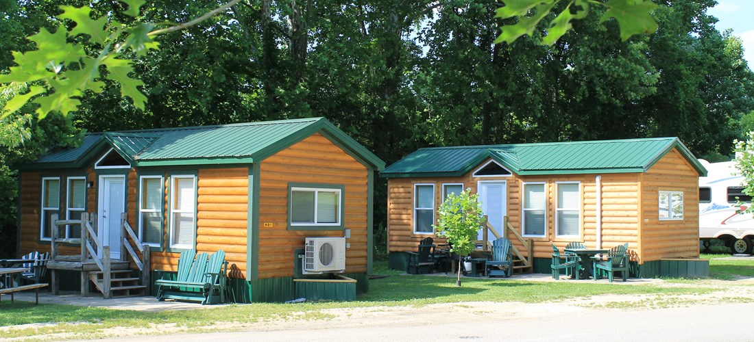 Deluxe Camping Cabins