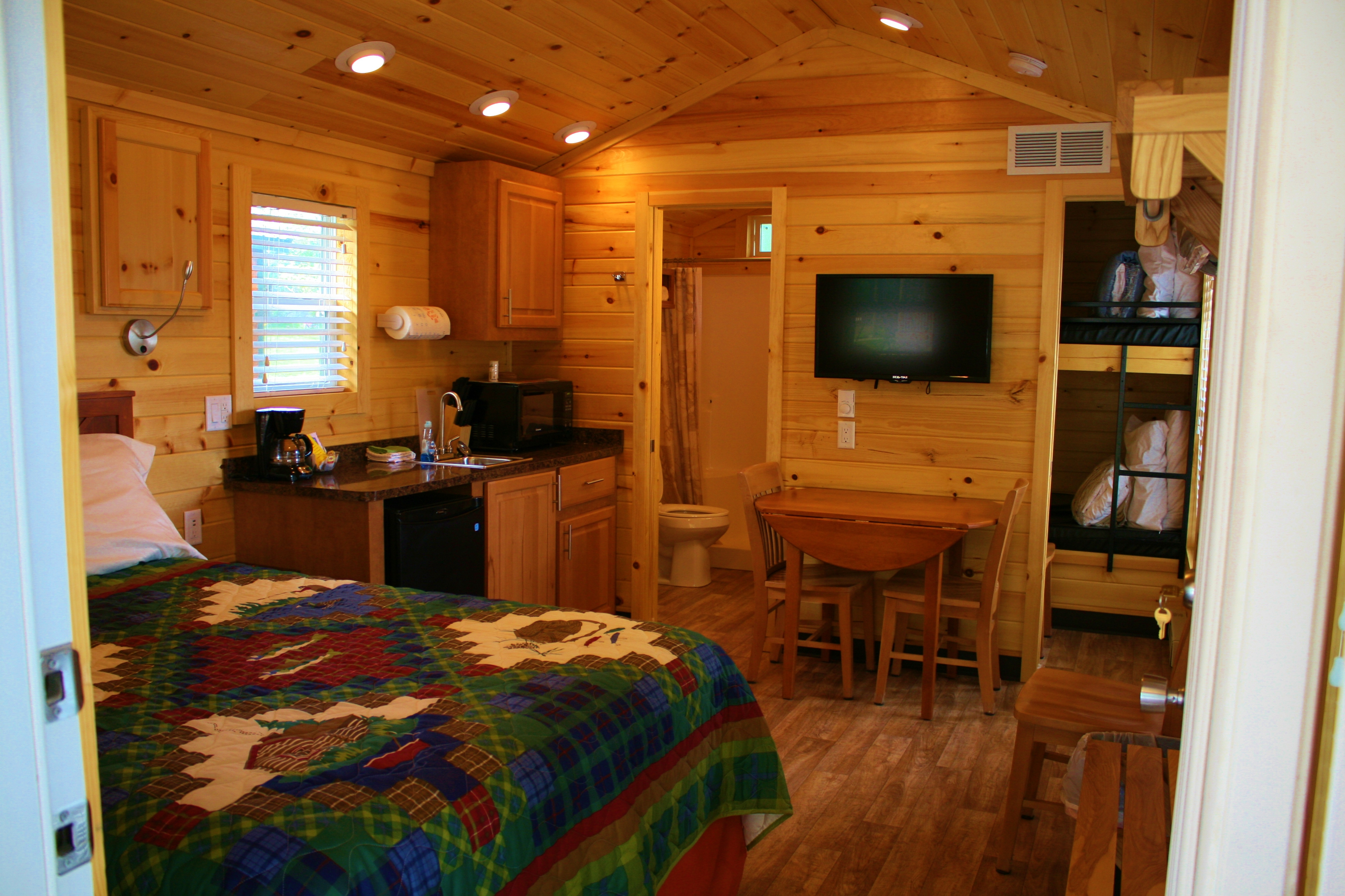 in rentals sandstone locations bluff cabin state gallery parks cabins cross timbers kansas