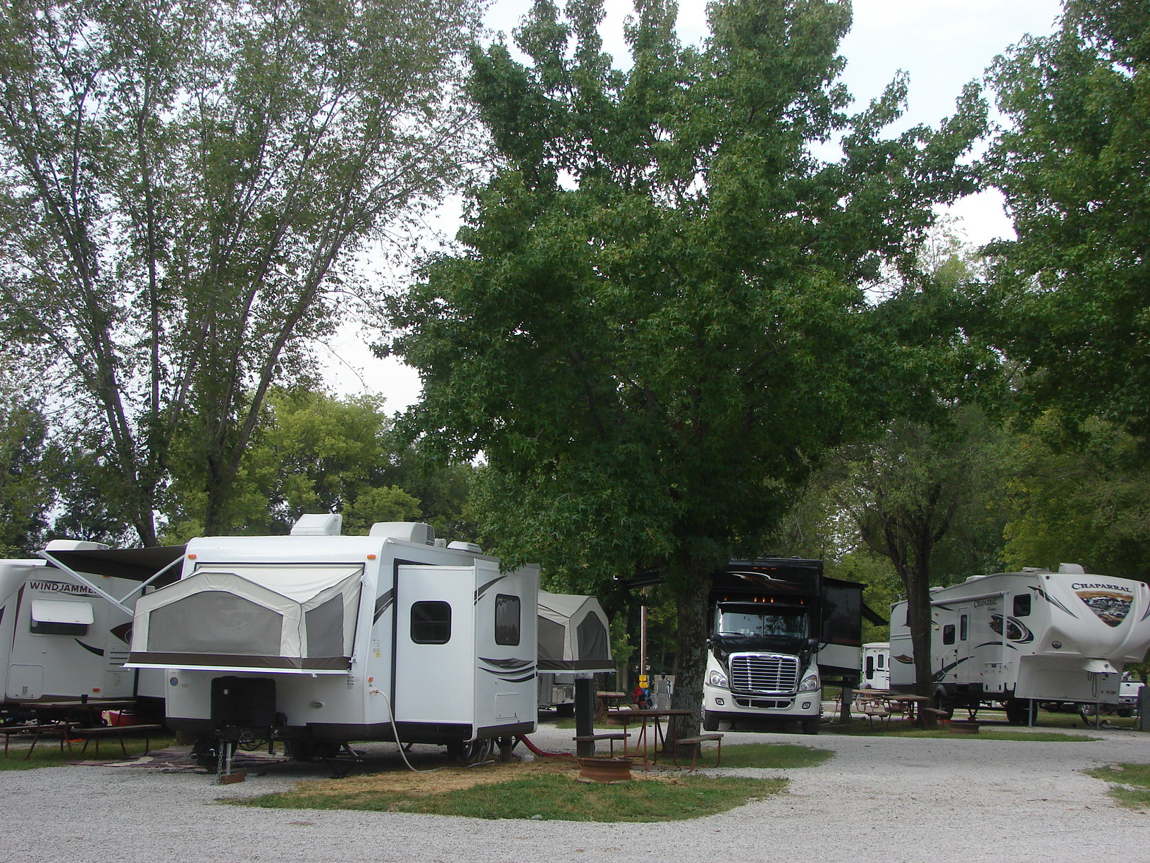 Oak Grove Missouri RV Camping Sites Kansas City East Oak