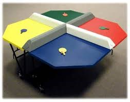 Polypong / 4-person Ping Pong Table