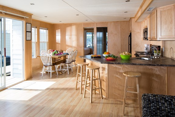 Kitchen in Houseboats