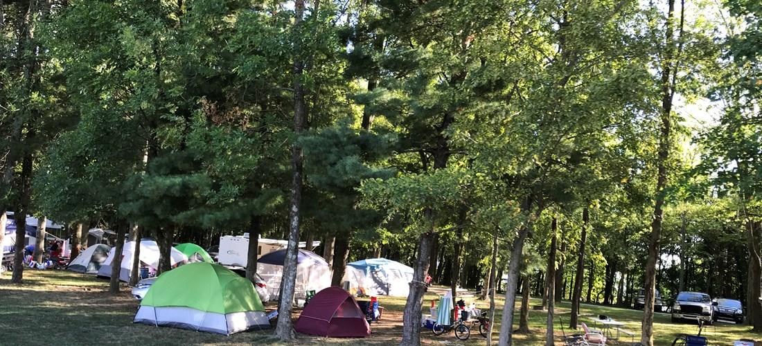 Cadiz, Kentucky Tent Camping Sites   Kentucky Lakes ...