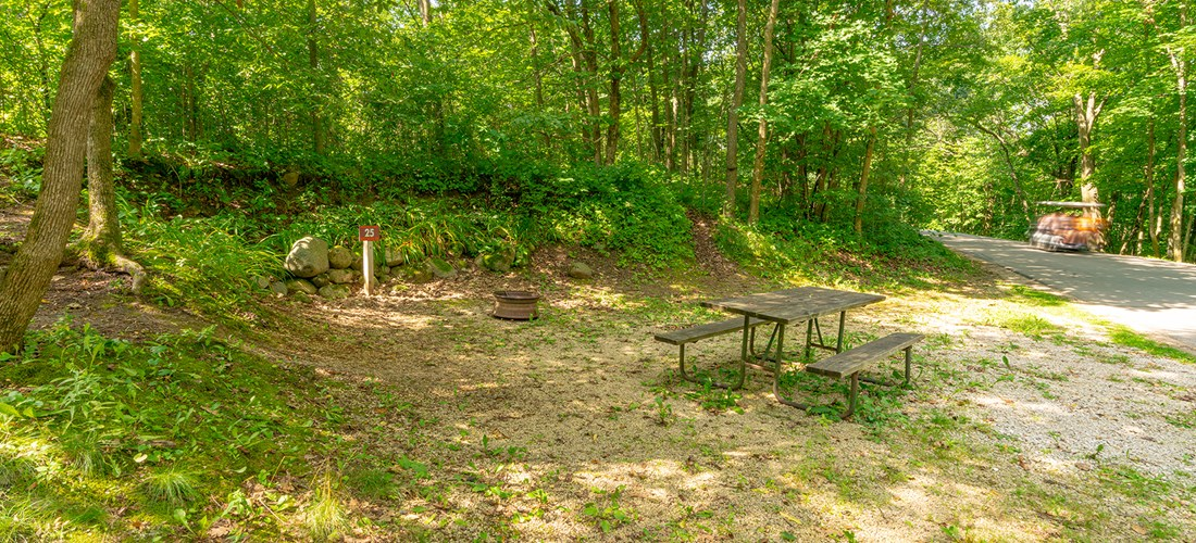 Tent Sites - No Hookups