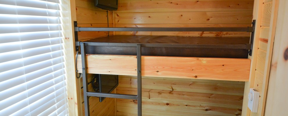 Bunk Set with 2 Flat Screen TVs