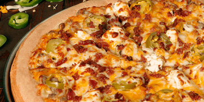 Godfather's adds Jalapeno Popper Pizza!
