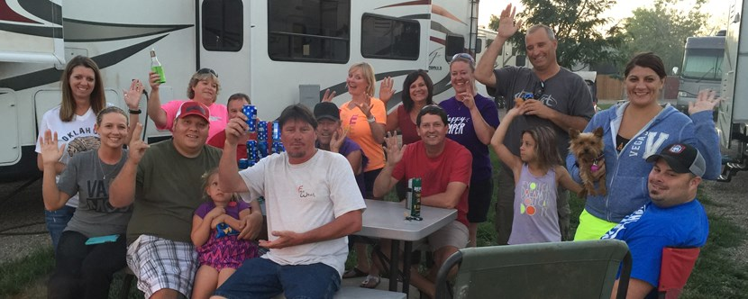 The Wild & Crazy Fun Gang from Ponca City, Oklahoma!