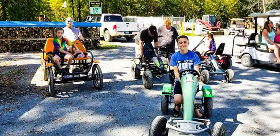 Pedal Karts & Bicycle Rentals