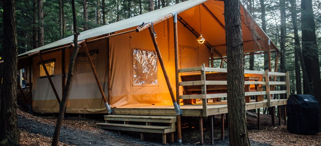 Glamping at Lake Placid/Whiteface Mtn. KOA