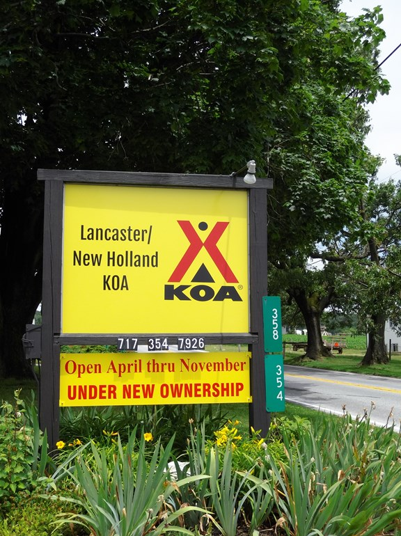 Welcome to the Lancaster / New Holland KOA