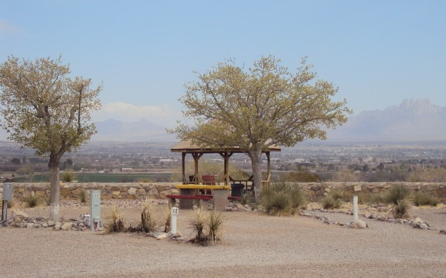 View Site with Nearby All Guest Lookout Gazebo