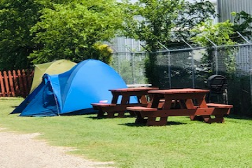 Tent Site, No Hookups, Grass Site Pad