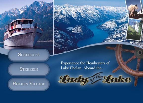 "Lake Chelan Boat Tour - ""Lady of the Lake and Lady Express"""