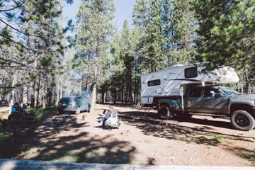 RV Park Pull-Through Site