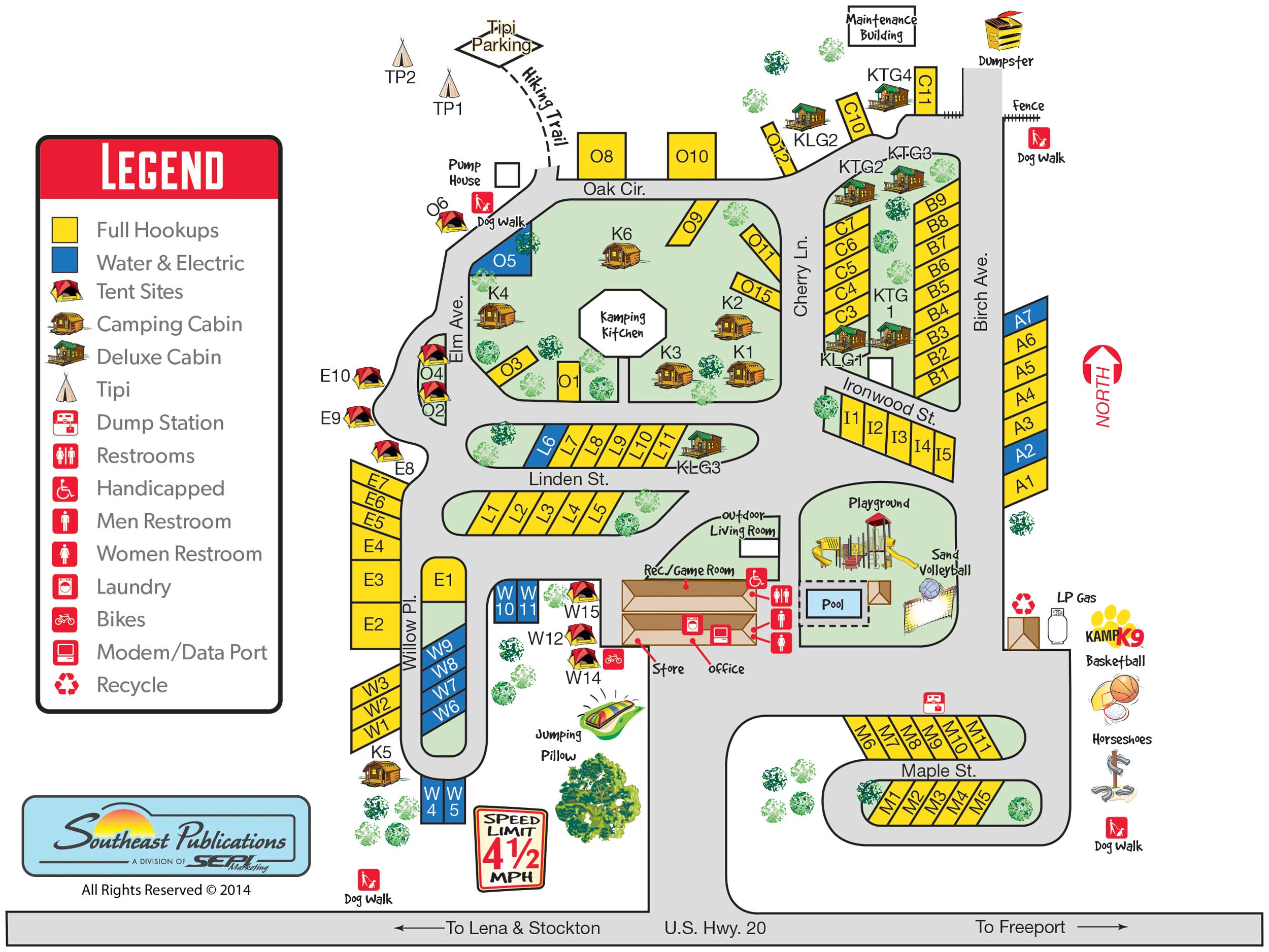 Lena Il Map Www Picsbud Com
