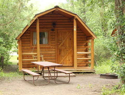 Camping Cabin Photo